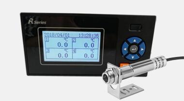 ZW-R2100E非接触式红外温度传感器专用红外温度记录仪